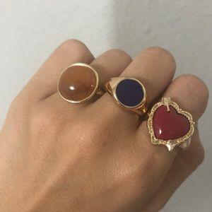 Topshop rings